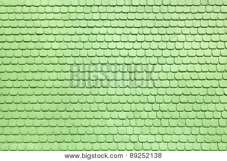 Light green shingles