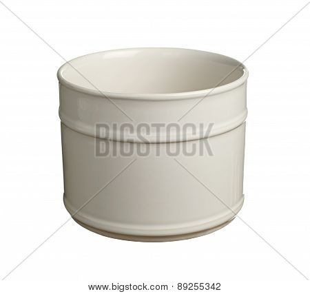 Cylindrical Flower Pot