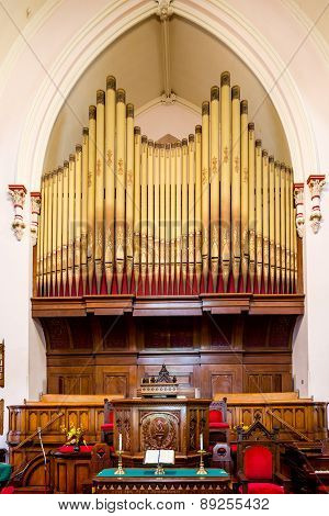 Altar And Organ Pipes