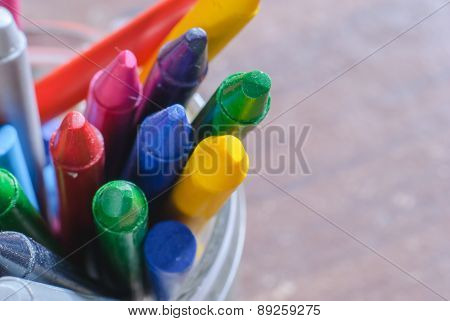 Crayons For Painting