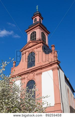 Church In Frankfurt Main, Germany