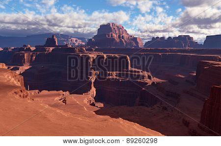 3D Fantasy Desert Landscape