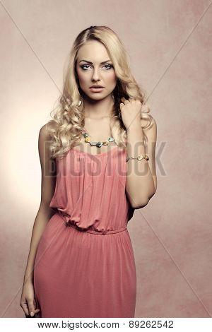 Fashion Shot Of Spring Girl