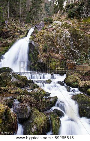 Waterfall in Schwarzewald