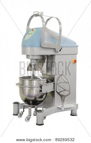 Industrial dough mixer in bakery