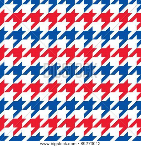 Patriotic Houndstooth 3