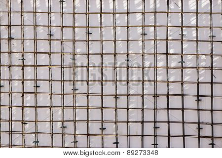 Abstract Background From A Reinforcing Lattice