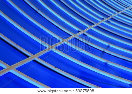 Plastic Abstract Asia  Kho Phangan Pier Roof Lomprayah    In Thailand