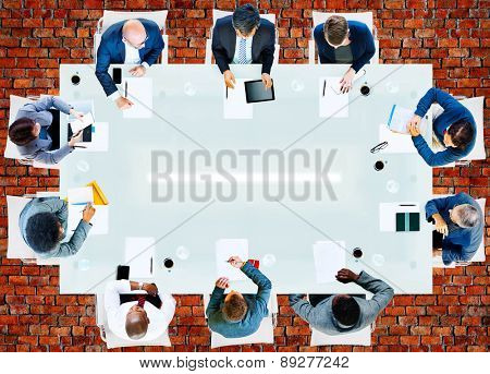 Business People Corporate Working Office Team Professional Concept