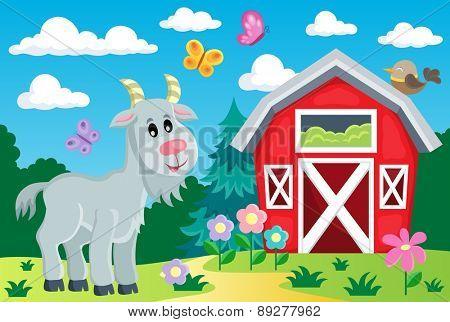 Farm topic image 6 - eps10 vector illustration.