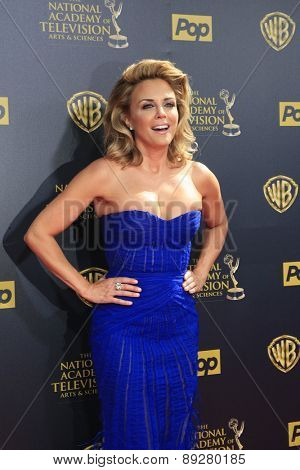 BURBANK - APR 26: Kelly Sullivan at the 42nd Daytime Emmy Awards Gala at Warner Bros. Studio on April 26, 2015 in Burbank, California