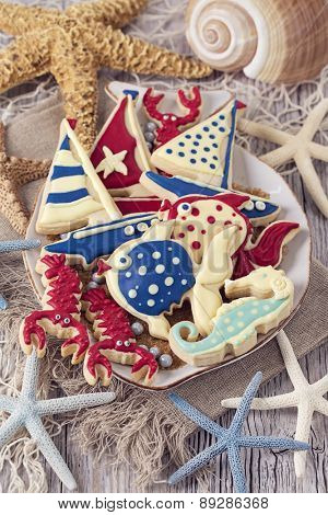 Cookies for a marine party