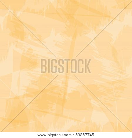 Orange Light Grungy Paper Seamless Background Eps10