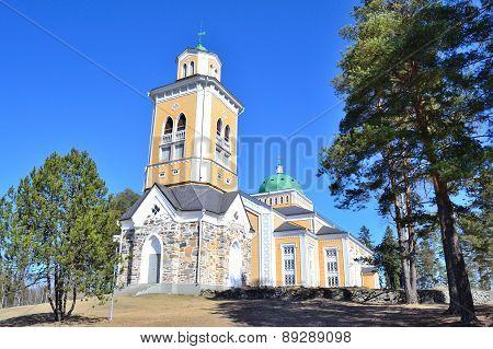 Finland. Wooden Church In Kerimaki