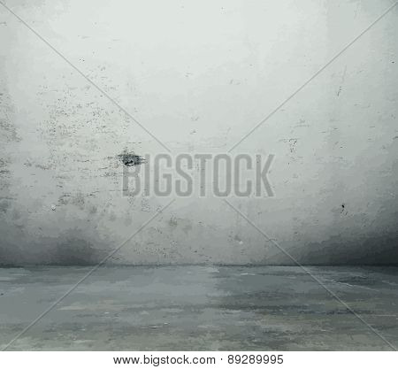 old grungy texture, dirty wall, vector