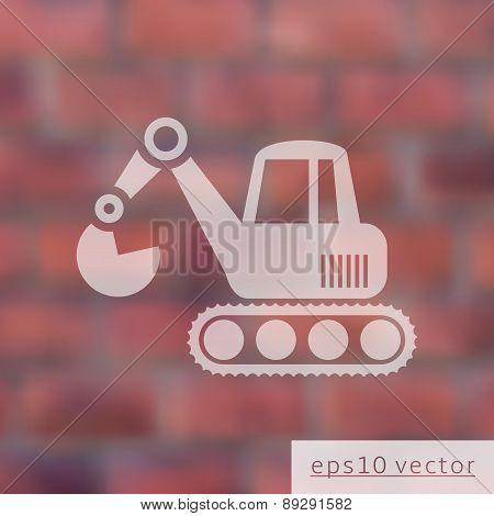 Excavator Icon