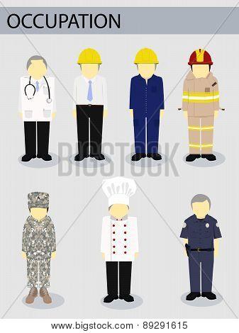 Vector Illustrator Job Occupation Work Concept