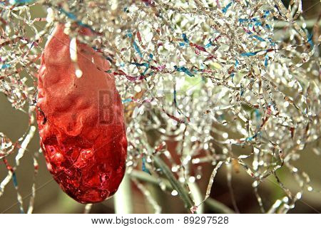 Christmas Tree Decoration On The Christmas Tree