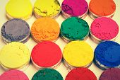 picture of holi  - Indian Holi festival colours pattern or texture - JPG