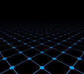 picture of grids  - Perspective grid dark surface - JPG