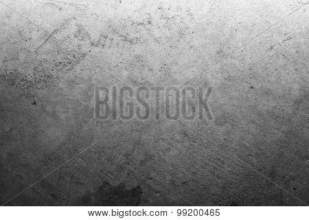 Closeup of grey textured surface