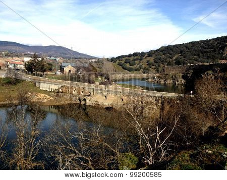 Buitrago del Lozoya - old town in central Spain