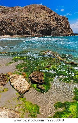 Coastline At Cabo Del Gata, Almeria, Spain