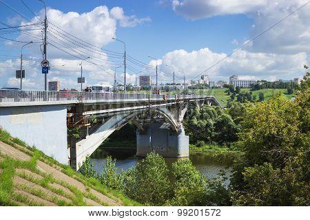 Kanavinsky Bridge Nizhny Novgorod
