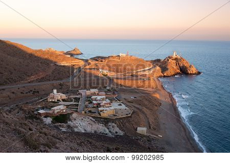 Lighthouse at Cabo del Gata, Almeria, Spain
