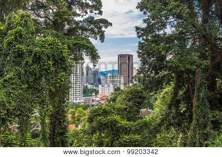 A Modern City Surrounded By Jungle, Kuala Lumpur