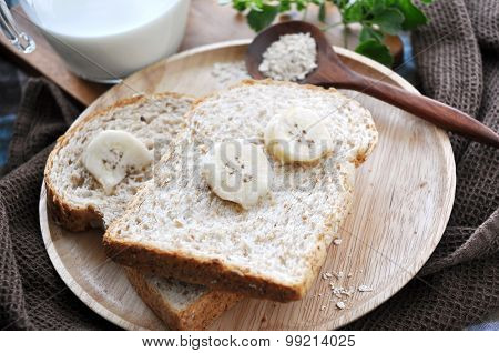 Wheat Bread With Banana