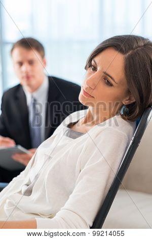 At Psychologist