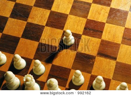 Chess Pawn Attack