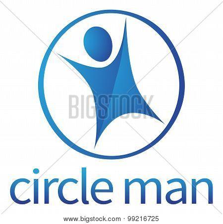 Circle Person Concept