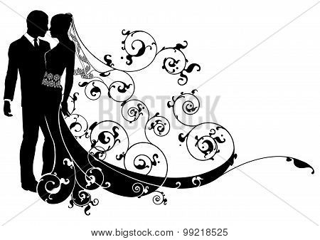 Bride And Groom Concept