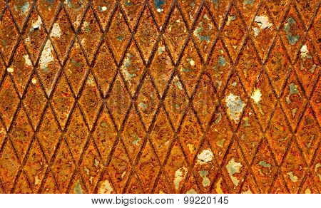 Abstract Old Grunge Rusty Metal Background