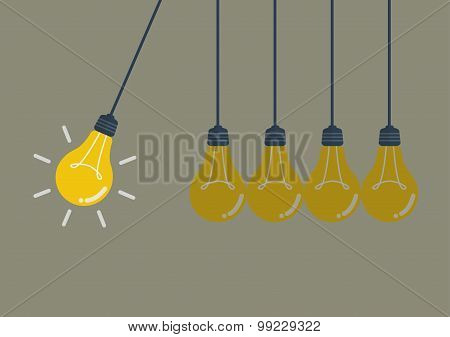Perpetual Motion With Light Bulbs