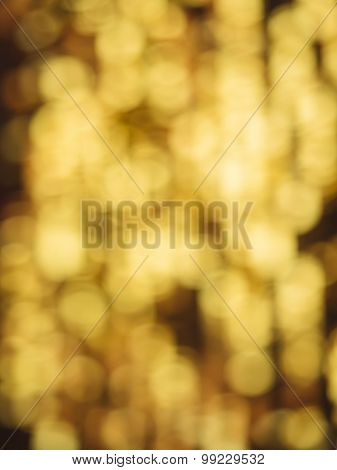 Blur Abstract Background Gold Color