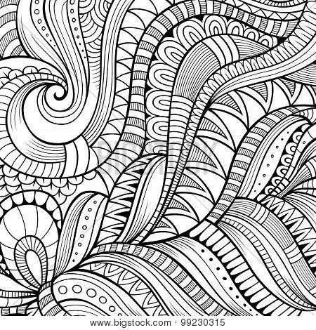 Decorative ethnic vector background