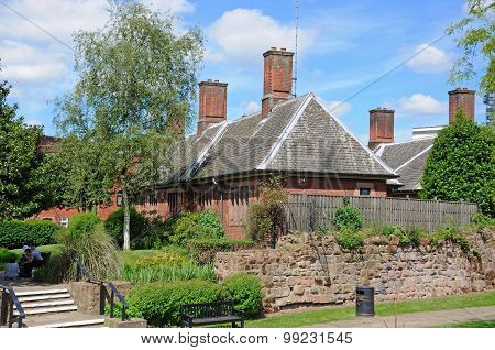Lady Herberts Gardens and Almshouses, Coventry.
