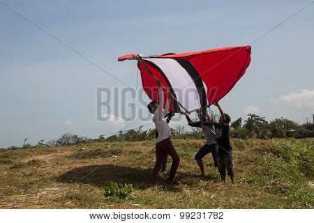 Gigantic Kite Bali