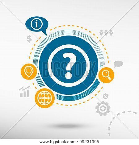 Question Mark. Help Symbol.