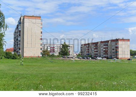 Gryazi, Russia - 07.23.2015. General View Of The Town Of Gryazi - A Major Rail Hub In South-eastern