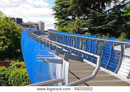 Glass bridge, Coventry.