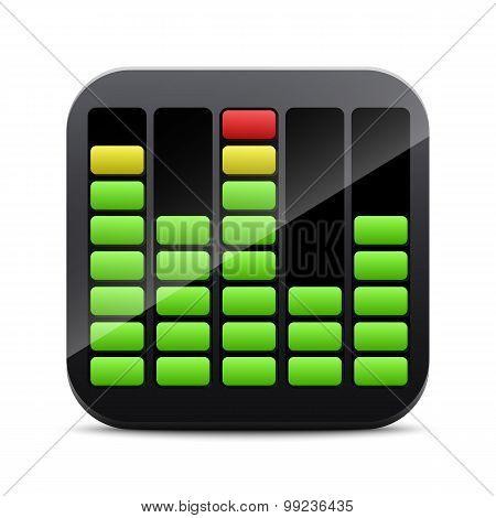 Digital Equalizer Icon