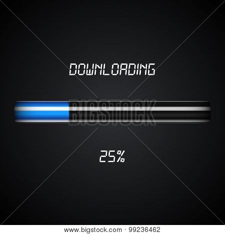 Downloading Progress Bar