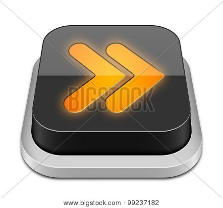 Next Button Icon, Vector Illustration