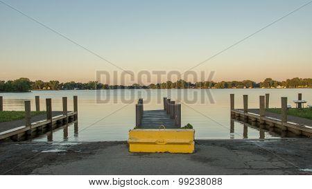 Boat Landing Morning