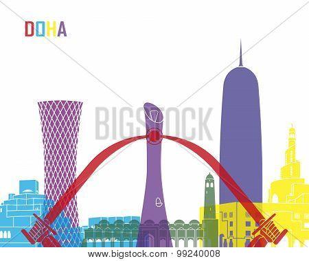 Doha Skyline Pop