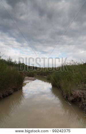 Muddy Western Creek
